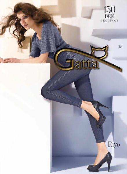 Gatta Leggings i jeanslook Riyo 06 150 DEN