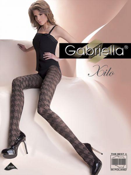 Gabriella Extravaganta strumpbyxor med trendigt moenster Xilo, 60 DEN