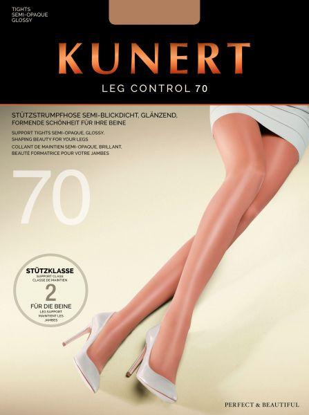 Kunert - Glansig strumpbyxa med inbyggd kompression Leg Control 70