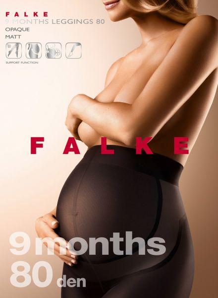 FALKE 9 Months - Heltäckande legging för gravida