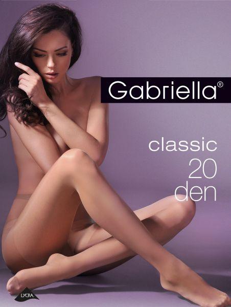 Gabriella Slät klassisk tunn strumpbyxa Miss Gabriella 20 den