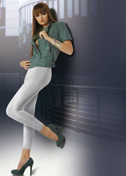 Heltäckande legging med sömlös byxdel och satinglans Arabel 90 DEN från Annes