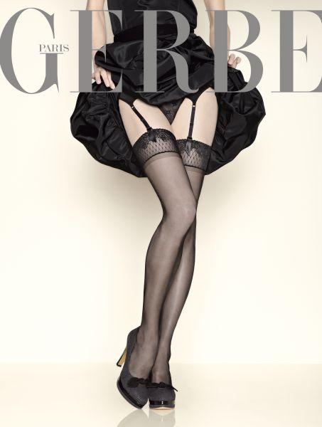 Gerbe Eleganta glansiga stockings Sunlight 15 DEN