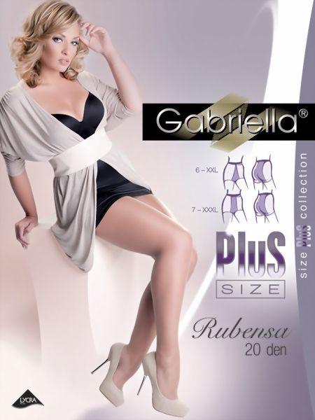 Gabriella Slaet plus size strumpbyxa Rubensa 20 den