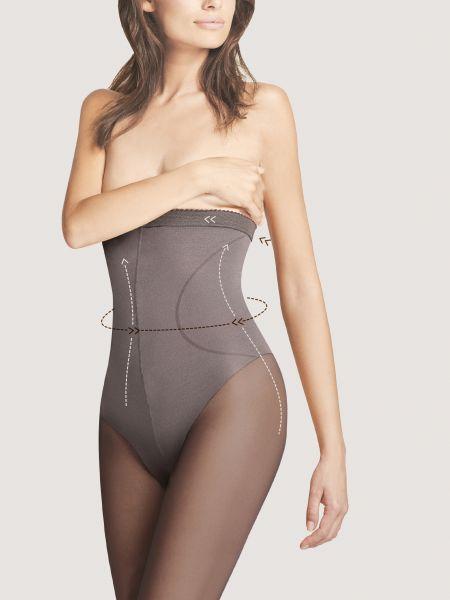 Fiore High Waist Bikini 40 - Semi-heltäckande strumpbyxa med figurformande byxdel
