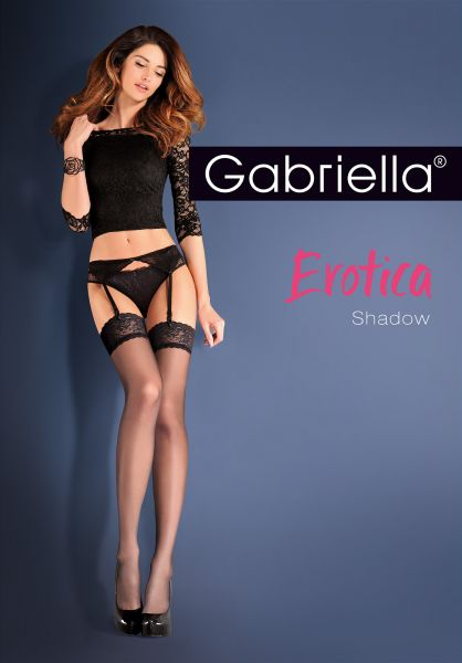 Gabriella Höfthållare med stockings Shadow, 15 DEN
