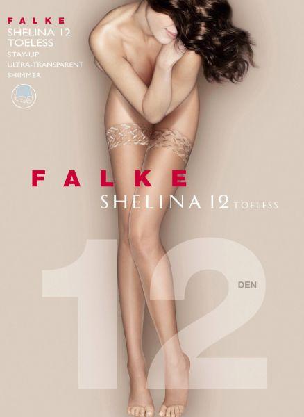 Falke Shelina 12 öppen tå stay-up