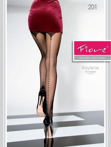 Elegant strumpbyxa med mönster i söm-look Raylene från Fiore