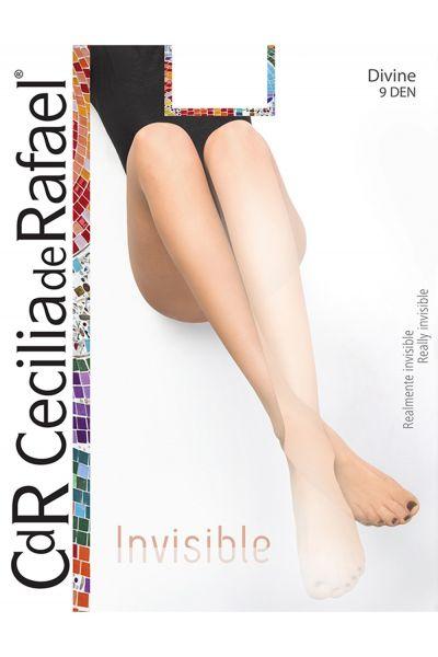 Cecilia de Rafael Divine - Slät ultratunn sommar strumpbyxa i matt-look, 9 DEN