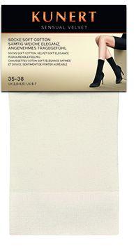 Kunert - Mjuka sockor med bomull Sensual Velvet