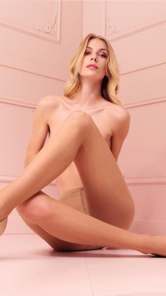Tunn strumpbyxa med sidenglans Rosy från Trasparenze, 20 DEN