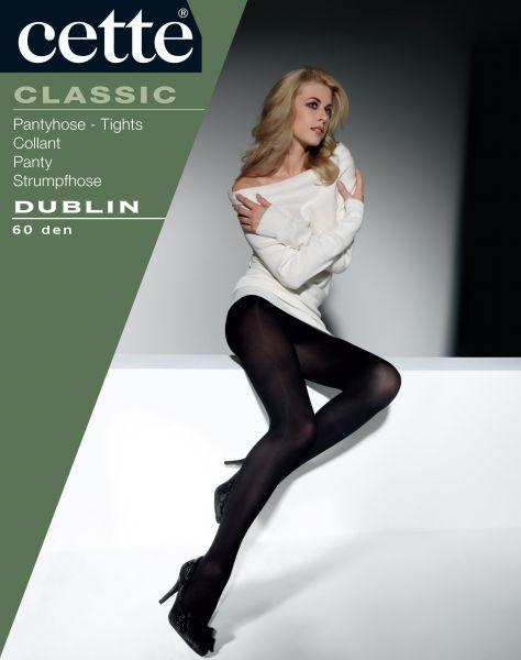Cette Dublin - Heltäckande strumpbyxa med satinglans
