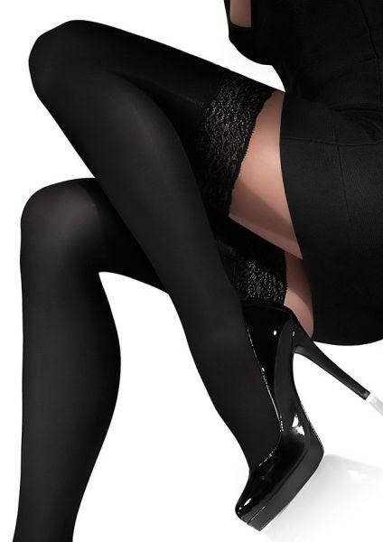 Marilyn Släta strumpor utan hållare, 100 DEN