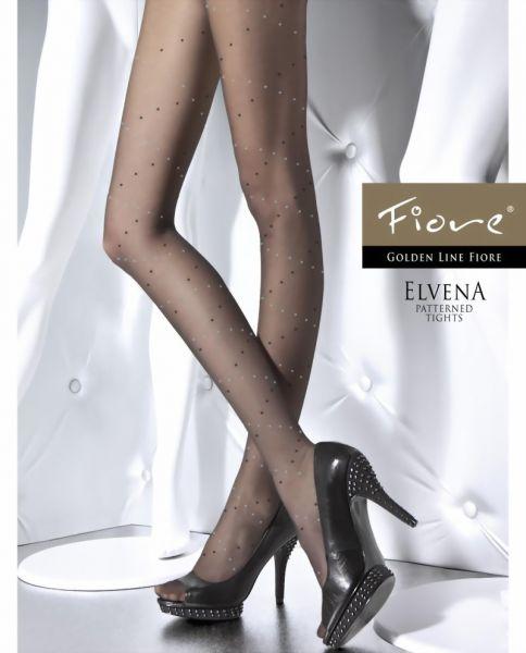 Fiore Tunna strumpbyxor med prickmoenster Elvena 20 DEN