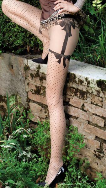 Trasparenze Tunna strumpbyxor med foerfoeriskt moenster Britney 20 DEN
