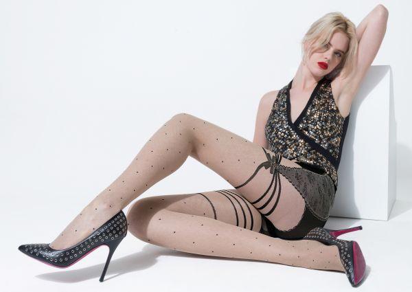 Trasparenze - Prickiga strumpbyxor med stockings-look Cartagena