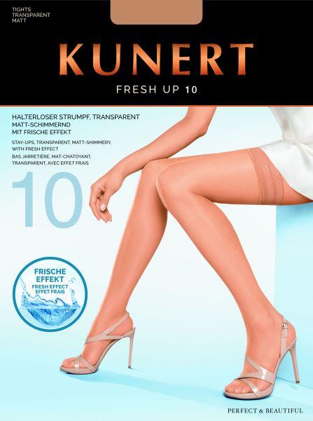 Sommar stay-ups med dekorationsband Fresh up 10 från Kunert