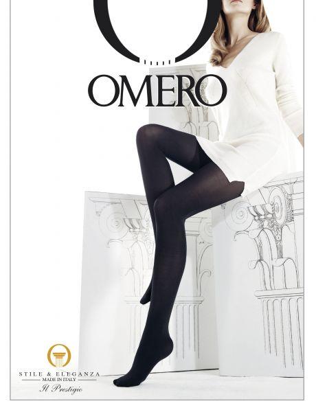 Slät heltäckande strumpbyxa Eris 70 från Omero