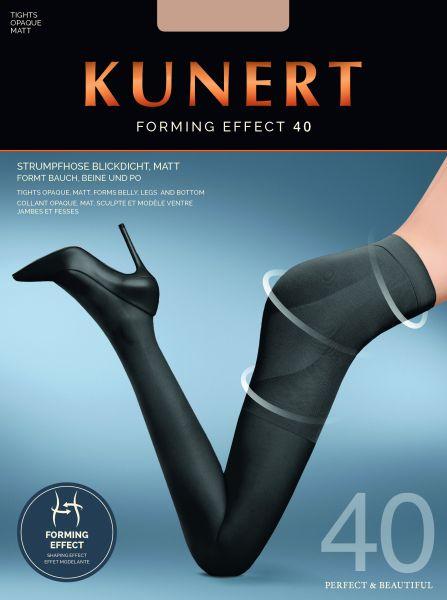Figurformande strumpbyxor med inbyggd kompression Forming Effect 40 från Kunert