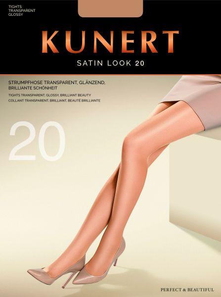 Kunert Elegant glansig strumpbyxa Satin Look 20 utan mönster