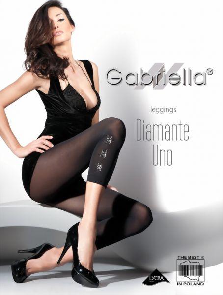 Gabriella Eleganta leggings med smyckesdekoration Diamante Uno