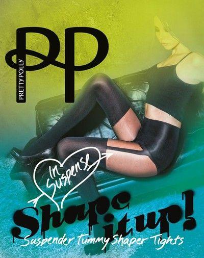 Figurformande strumpbyxor i stockings-look Shape It Up fr