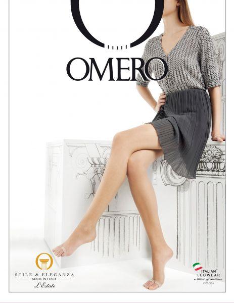 Omero Aestiva 8 Infradito - Extremt tunn strumpbyxa med öppen tå