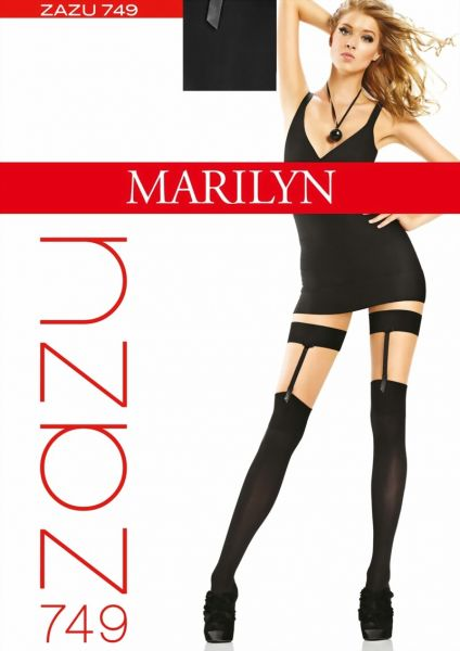 Marilyn Overknees i stockings-look Zazu, 60 DEN