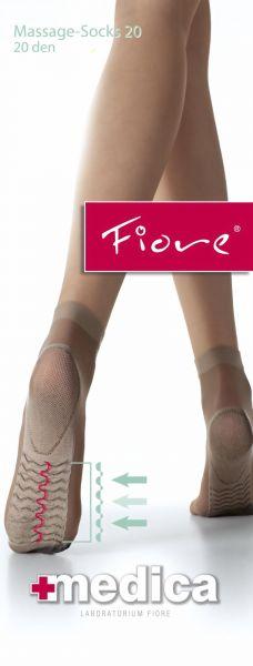 Fiore Slaeta sockor med massageeffekt Medica 20 DEN