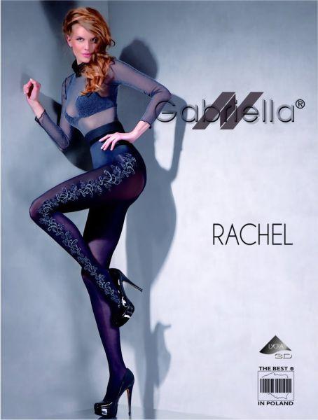 Gabriella Elegant strumpbyxa med floralt moenster Rachel, 60 DEN