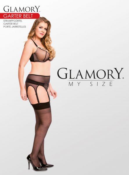 Plus size höfthållare Garter Belt från Glamory